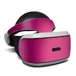 DecalGirl PSVR-PINKBURST Sony Playstation VR Skin - Pink Burst