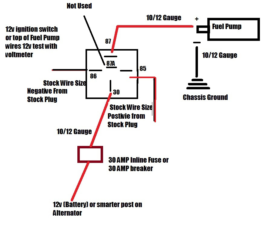 Wiring Diagram For A 30 Amp Relay