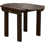 Havenside Home Yorkville Outdoor Side Table Weathered Acorn