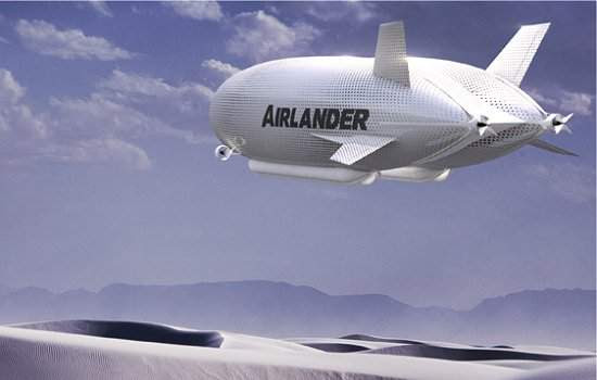Maior aeronave do mundo volta a ser fabricada