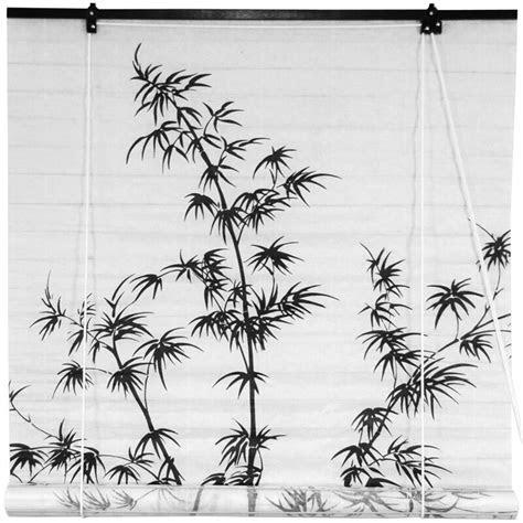 oriental furniture bamboo tree shoji rice paper roller