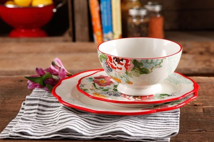 Pioneer Woman Cookware Country Garden Dishes