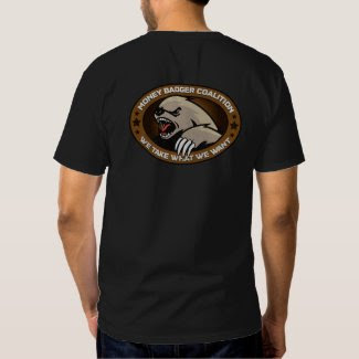 Money Badger Coalition Back Shirt