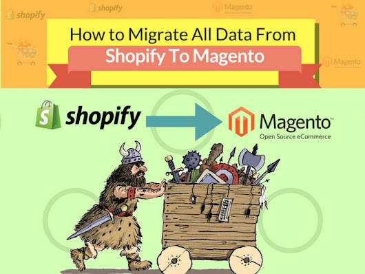 How to Migrate All Data From Shopify to Magento