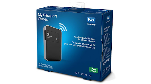 WD My Passport Wireless | L'hard disk è senza fili