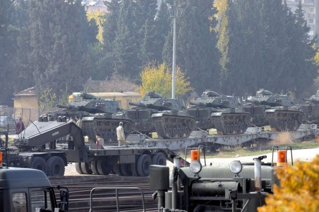 East and Southeast tank shipments