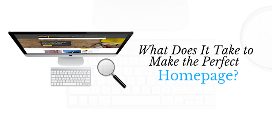The Perfect Homepage Cheat Sheet | Avenue Road Advertising