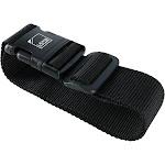 Lewis N Clark Travel Add-a-Bag Strap - Black one size