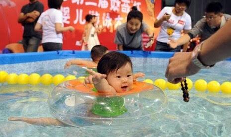 Berenang dan Manfaatnya untuk Anak