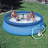 12' easy-up swimming pool