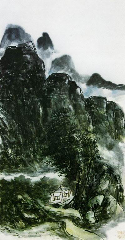 黄宾虹 HUANG Binhong - Landscape