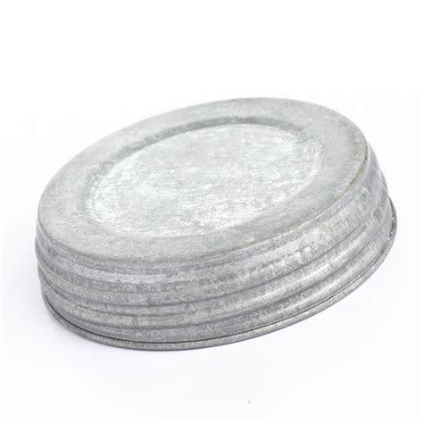 Galvanized Mason Jar Lid   Jar Lids   Basic Craft Supplies