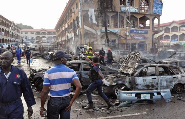Explosão em shopping de Abuja