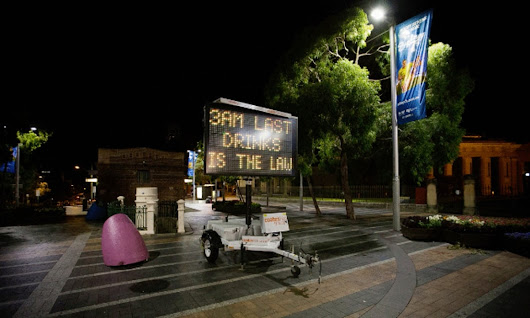 Sydney's fun police have put out the light of the nightlife. The city's a global laughing stock