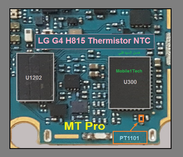 LG G4 H815 Charging Paused Solution Jumpers