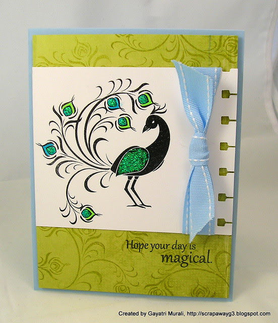 Magical day card