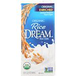 Rice Dream: Organic Rice Drink Enriched Original, 32 Oz