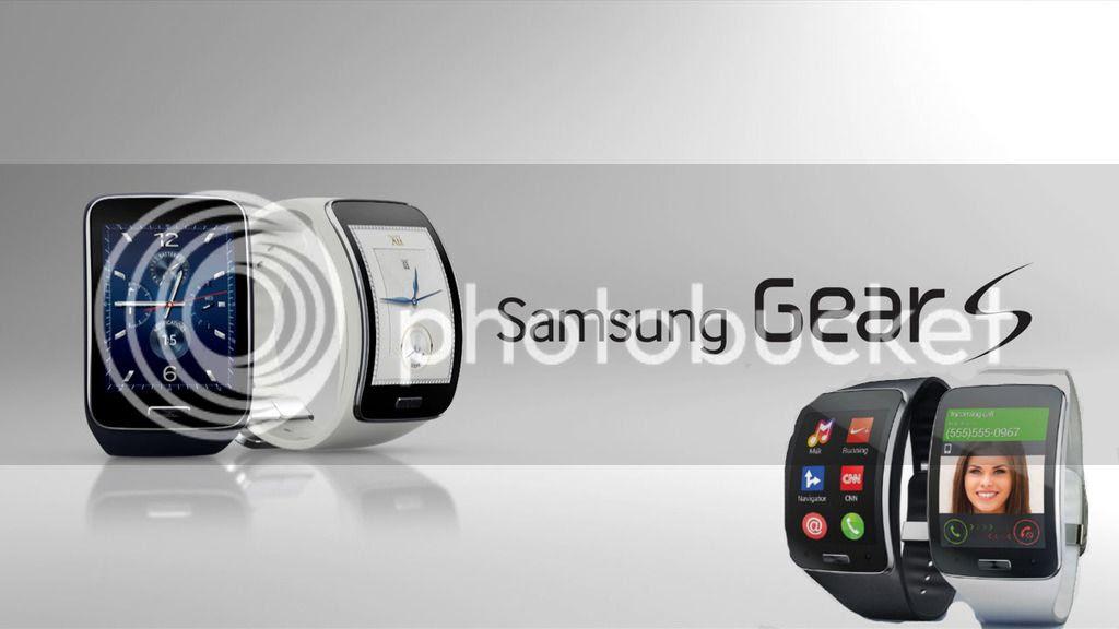 Smartwatch Samsung Gear S Ber OS Tizen