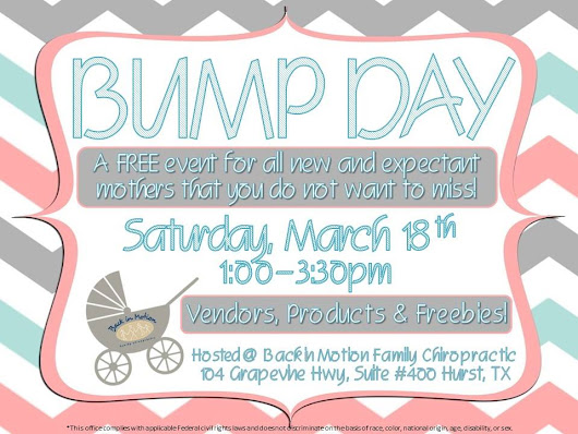 FREE Bump Day in Hurst, Texas for Pregnant Families