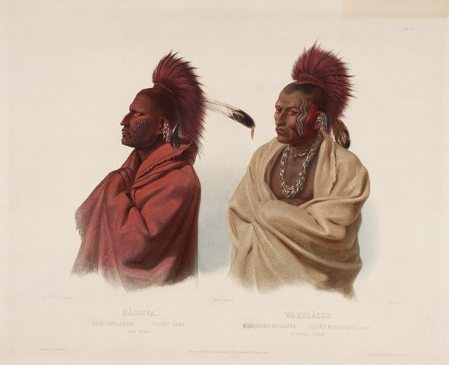 Massica & Wakusasse, a Saukie and a Fox Indian