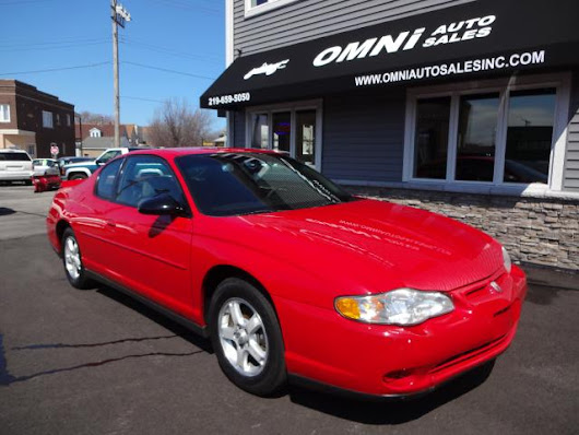 Used 2003 Chevrolet Monte Carlo for Sale in Whiting  IN 46394 Omni Auto Sales