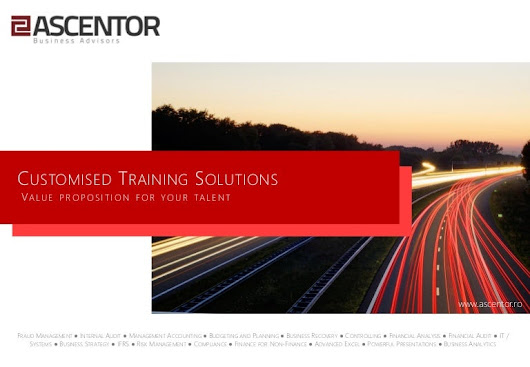 Ascentor - Customised Training Solutions 2014