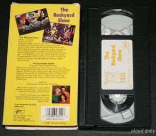 Download Barney And The Backyard Gang Barney In Concert ...