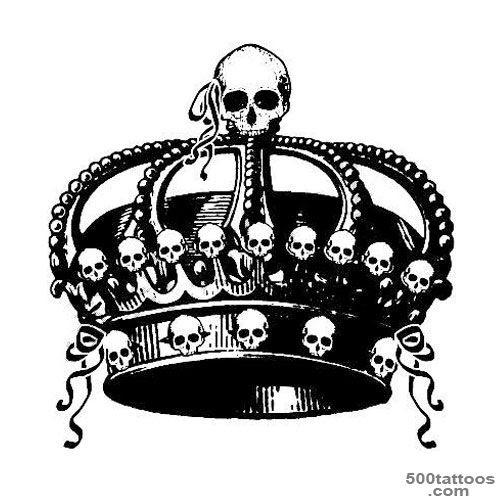 Crown Tattoo Photo Num 1545