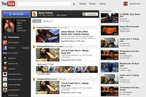YouTube renova página e lança design 'mais limpo e simples' (Foto: Reprodução)