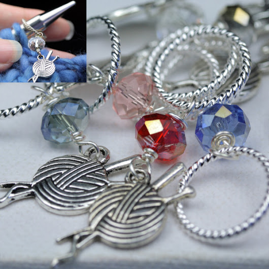 40% off Stitch Markers AKA Knitting Bling Oct 2-8 - creativity inspired