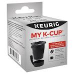 KEURIG 5000194966 Reusable K-Cup Coffee Filter, Plastic, Black