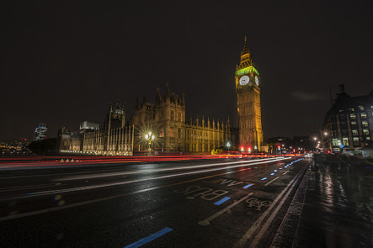Big Ben And Parliament At Night by Ben  Tucker