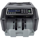 Back Load Bill Counter Hi Speed Counterfeit Detection 1400 Per Min