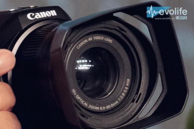 canon 4k fixed lens video camera 1