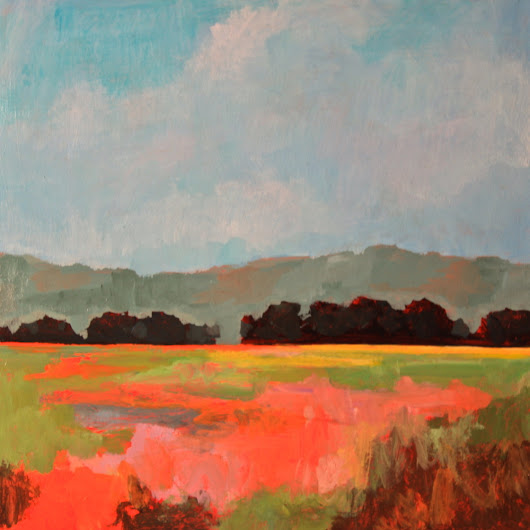 "Art You Should Consider Buying Today (Or At Least in the Near Future): ""Eastern Field"", Jamee Linton"