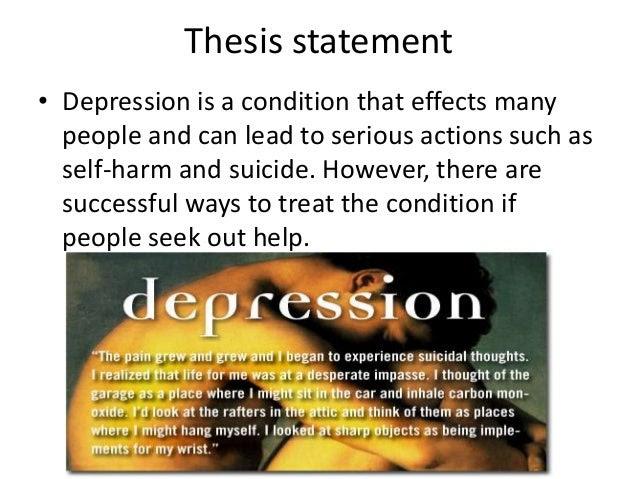 Depression thesis