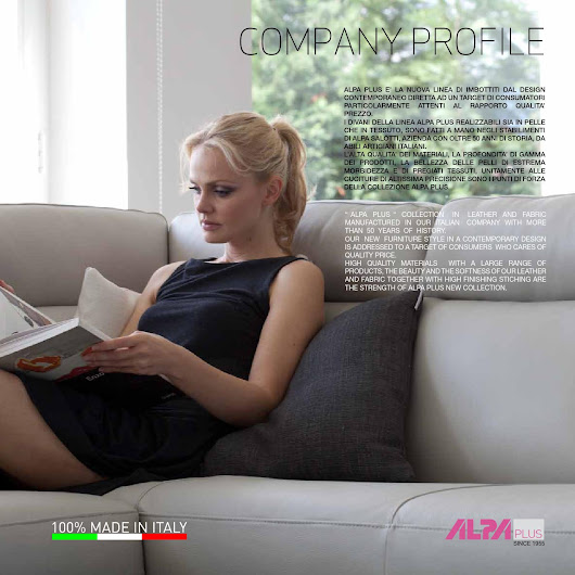 Alpa - a Dreamy Sofa Catalog of Italian Sectionals