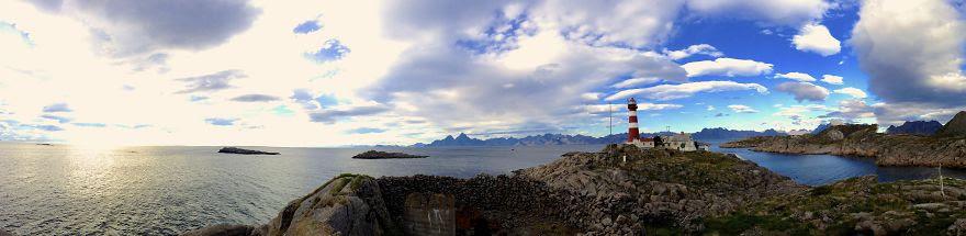 Skrova Lighthouse, Lofoten