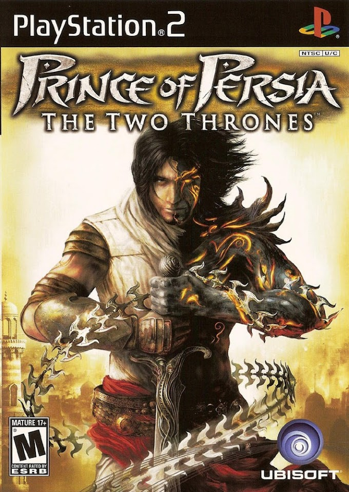 PRINCE OF PERSIA THE TWO THRONES (ISO) (PS2)