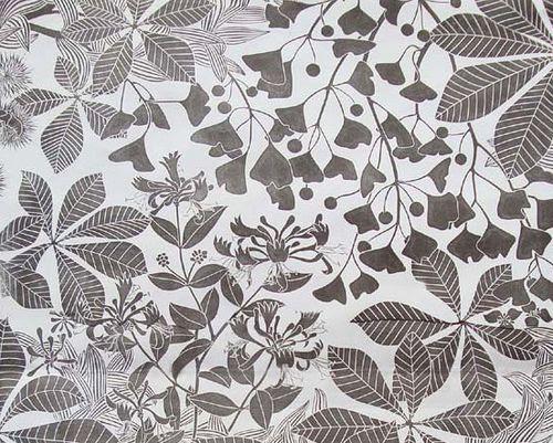 Chestnut ~ Marthe Armitage Wallpaper