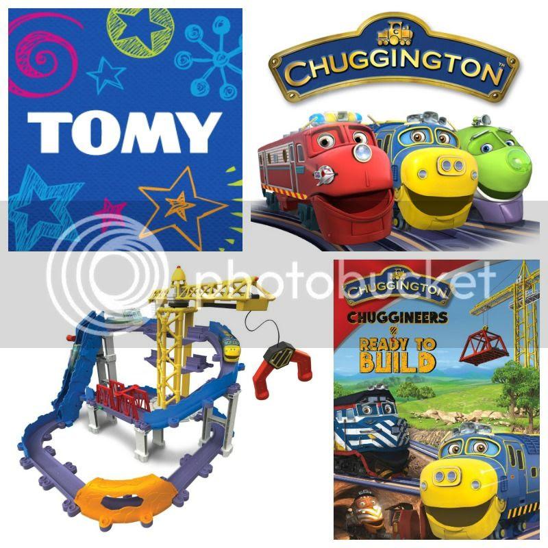 Holiday Gift Guide TOMY Chuggington