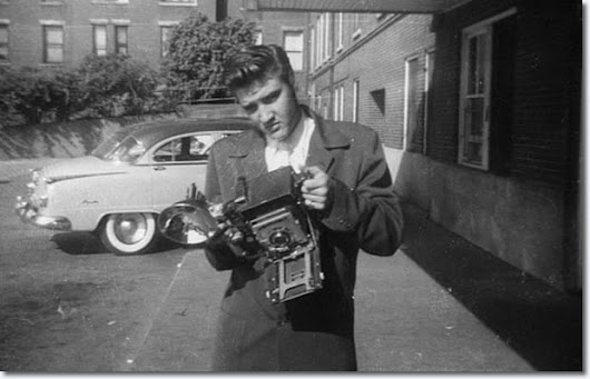 Elvis Presley : July 5, 1956 : St. Joseph's Hospital Memphis Tennessee