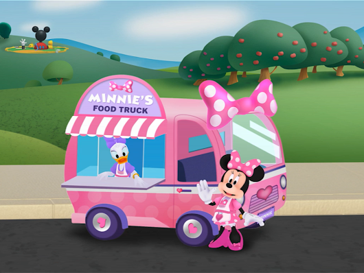 Cooking Up Fun With Minnie's Food Truck - App Review
