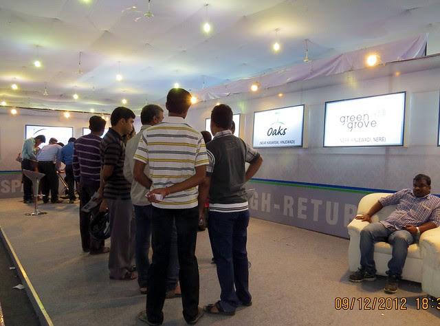 Pune Property Exhibition - Sakal Vastu - Property Expo - December 2012 - 18