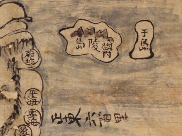 Map of Korea (1800s?)