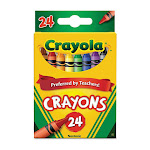 Crayola Regular Crayons, Non-Toxic - 24 Ea