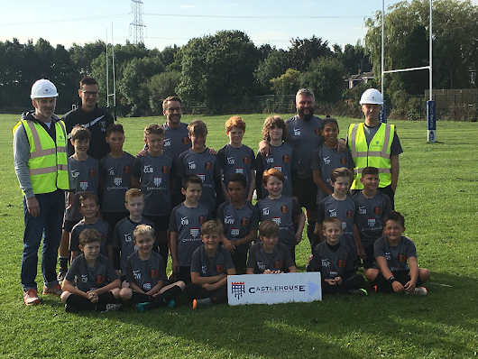 Castlehouse Construction Sponsors Gomersal and Cleckheaton FC