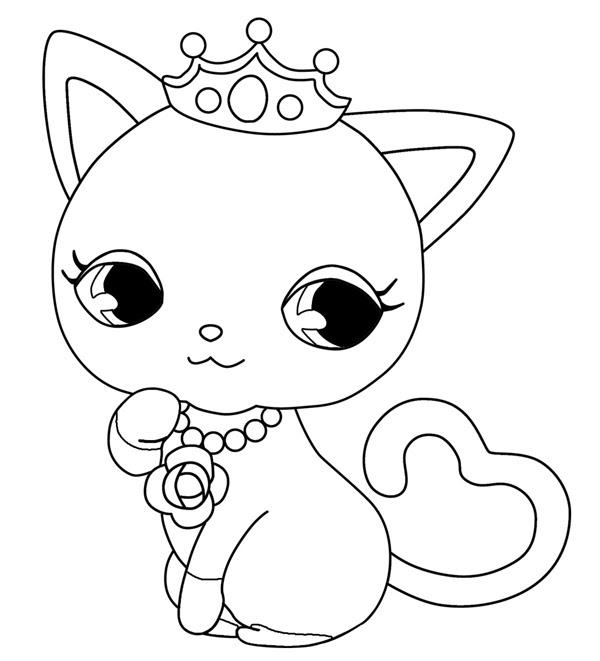 Dibujos De Gatitos Para Colorear E Imprimir Imagesacolorierwebsite