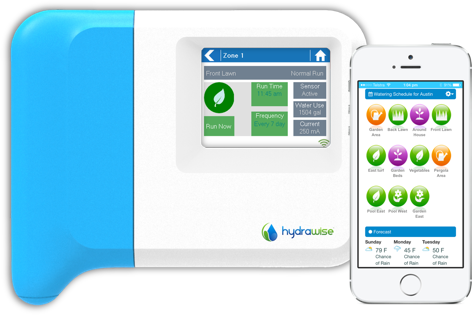 Hydrawise - Internet remote control of your irrigation system from iPhone, Android or web