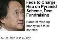 Norman Hsu, los principales contribuyentes de la campaña de Hillary Clinton